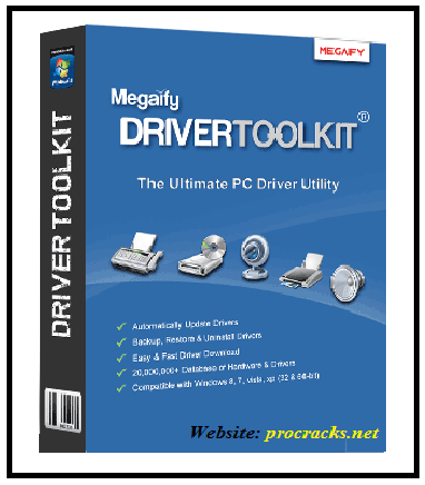 Driver ToolKit 8.6.0.1 Crack